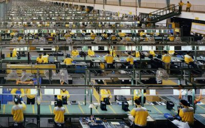 The Factory of the World goes Upscale